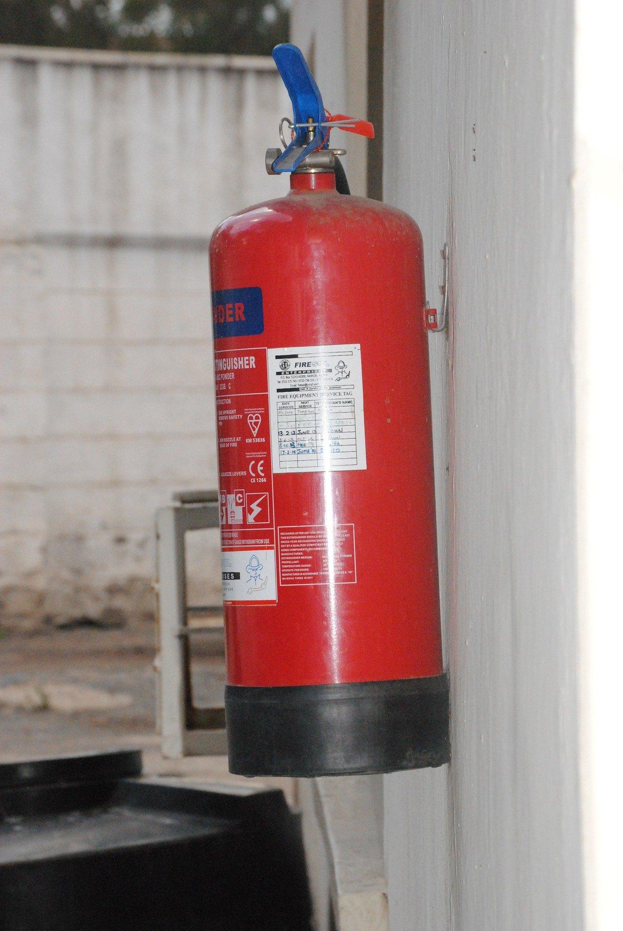 Antincendio – rischio basso